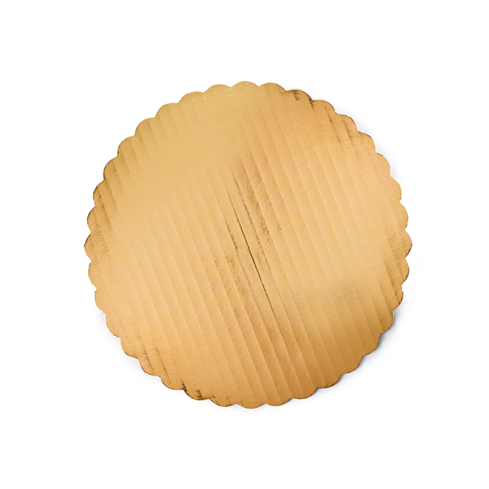 Baking supplies - gold cake board