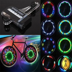 Luz LED para Roda de Bike  - 2 unidades - Tribo Alternativa