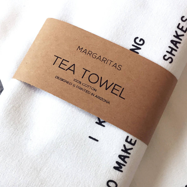 Devenie Designs - Margaritas - Tea Towel