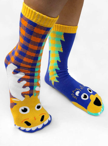 Pals Socks - Moose & Bear Adult Mismatched Socks
