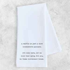 DEV D + CO.  (formally Devenie Designs) - A Waffle - Tea Towel