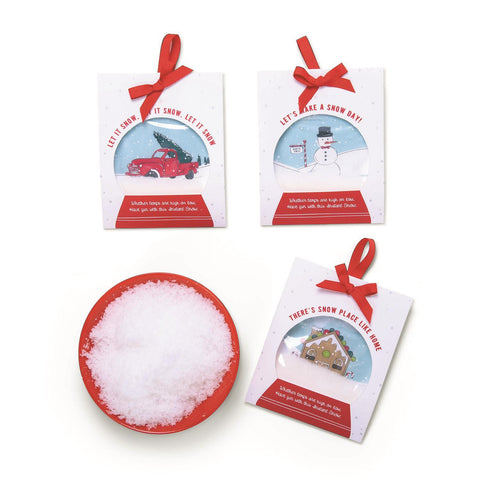 Snowglobe Greeting Card