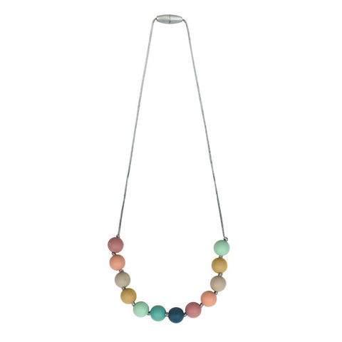 Itzy Ritzy - *NEW* Rainbow Teething Necklace
