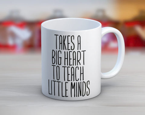 Quotable Life - Takes A Big Heart Coffee Mug