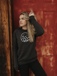 Made of Mountains - Starry Night Fleece Pullover