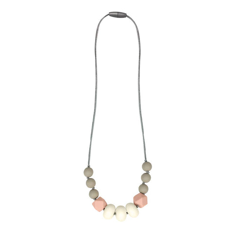 Itzy Ritzy - *NEW* Blush Teething Necklace