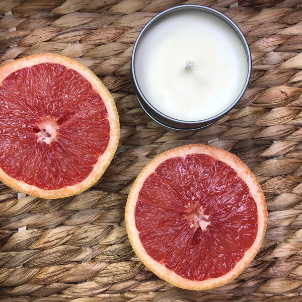 NEW - Grapefruit Mimosa Soy Candle
