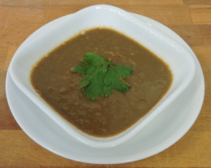 Organic Lentil Soup With Bone Broth