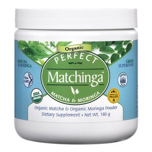 Organic Matchinga Powder (Matcha and Moringa)