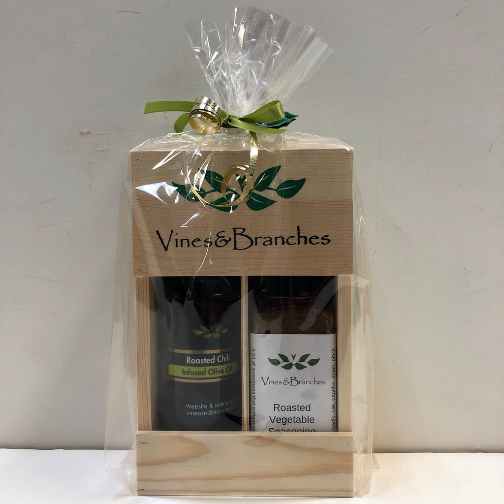 Vines & Branches Gift Basket $29