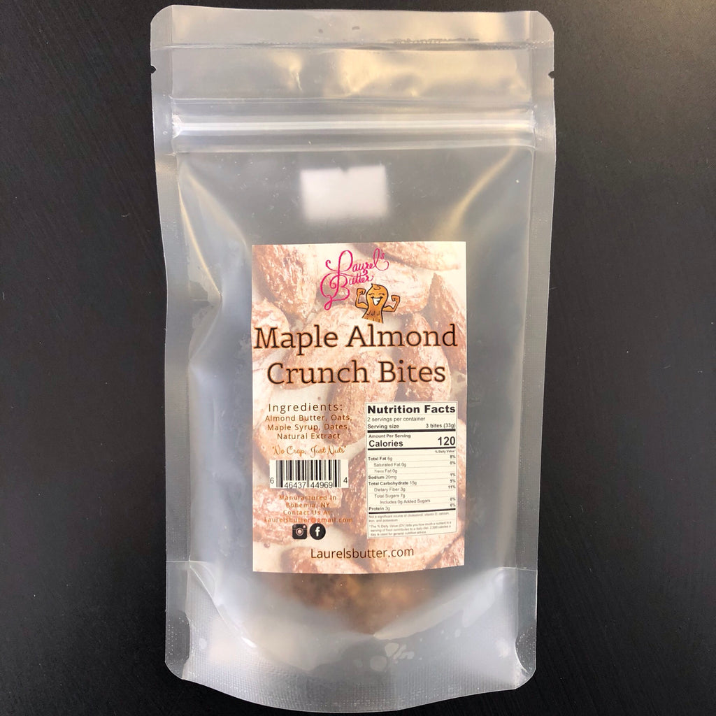 Maple Almond Crunch Bites