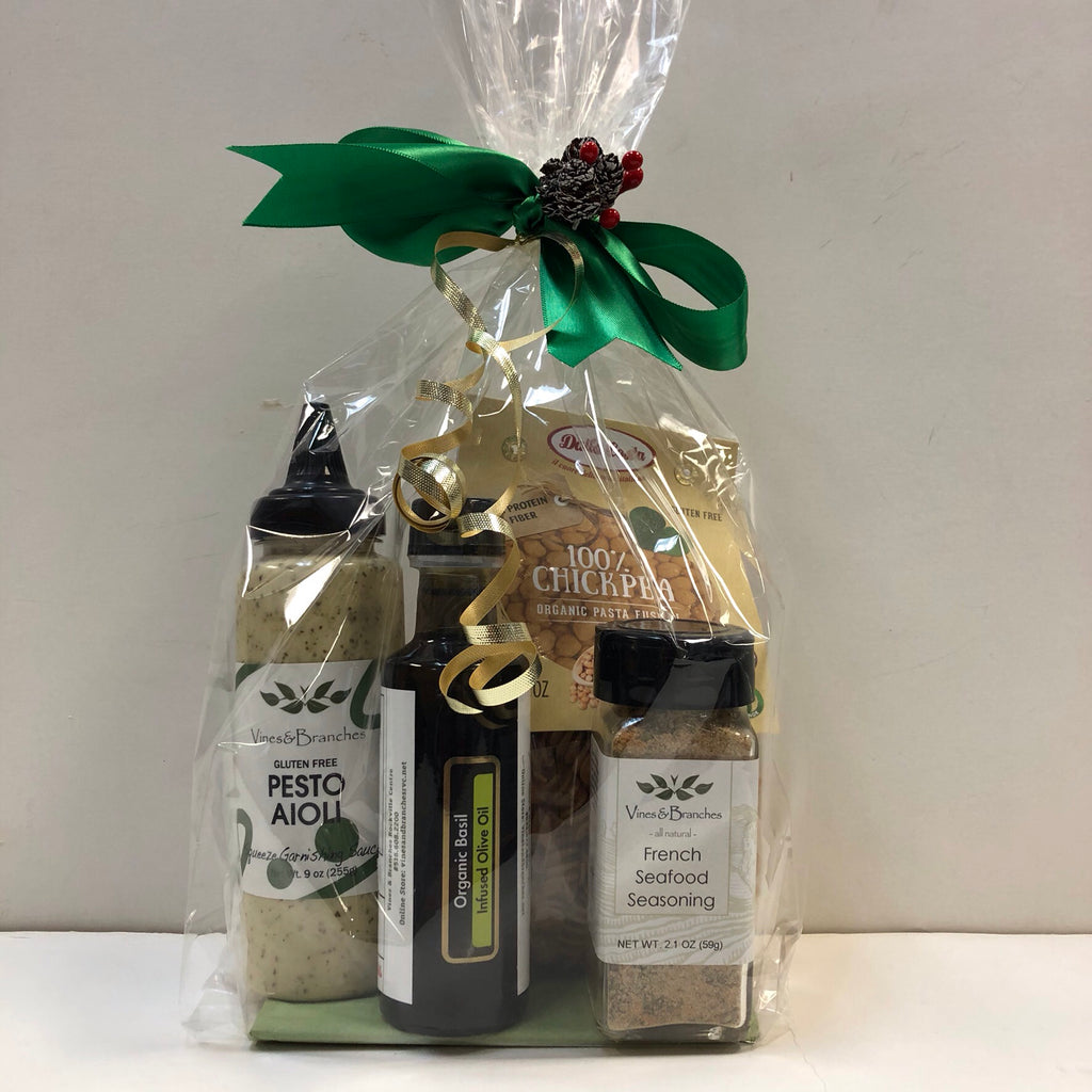 Vines & Branches Gift Basket $50