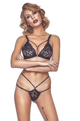 Scene Stealer Lace Lingerie Set