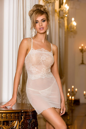 Willow Sheer Chemise and Thong Set