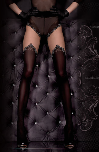 Ballerina 305 Tights Nero(Black)/Skin