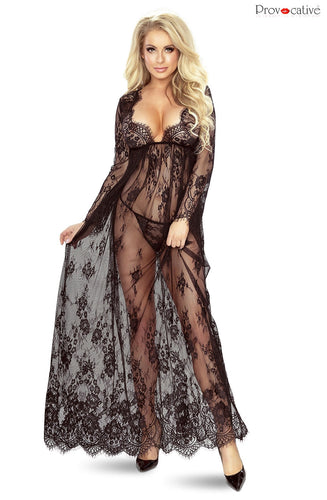 Provocative Floor Length Robe