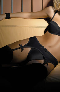 Gracya Lucy Suspender Black