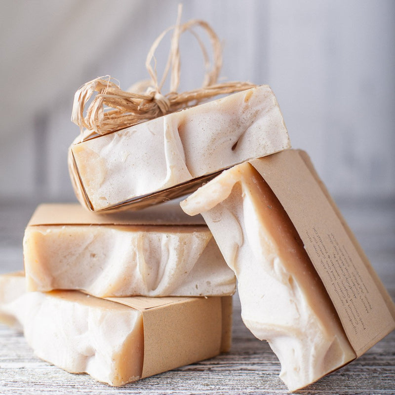 Orange Patchouli Goat's Milk Soap