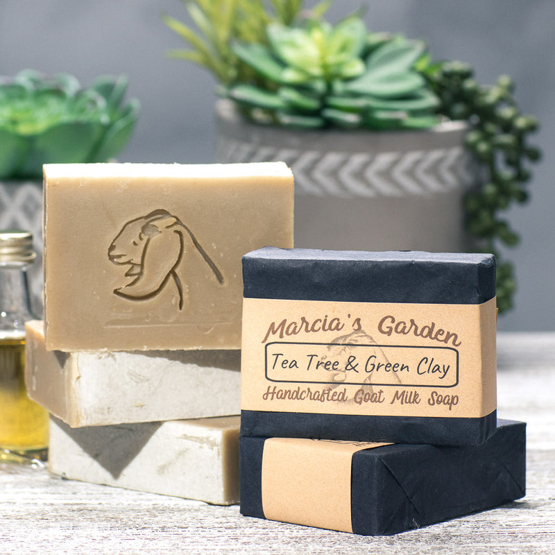 Tea Tree and Green Clay Facial Bar