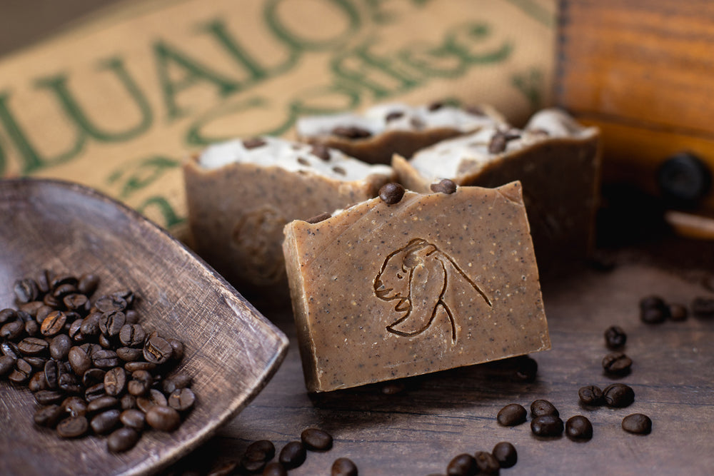 Coffee Exfoliating & Odor Removing Soap