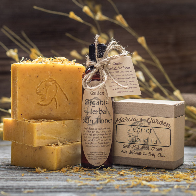 Carrot Calendula Complexion Bar for Normal to Dry Skin