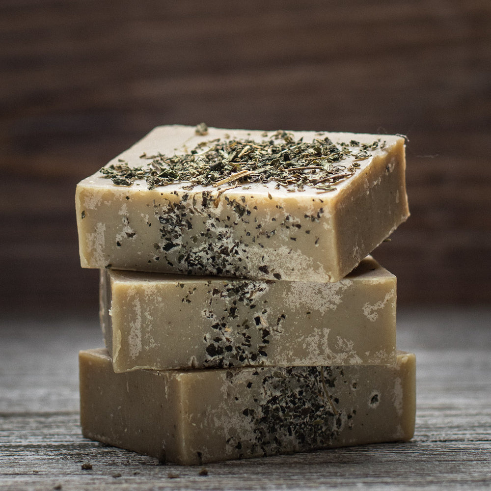 Goat's Milk Nettle Complexion Bar for Oily, Troubled Skin