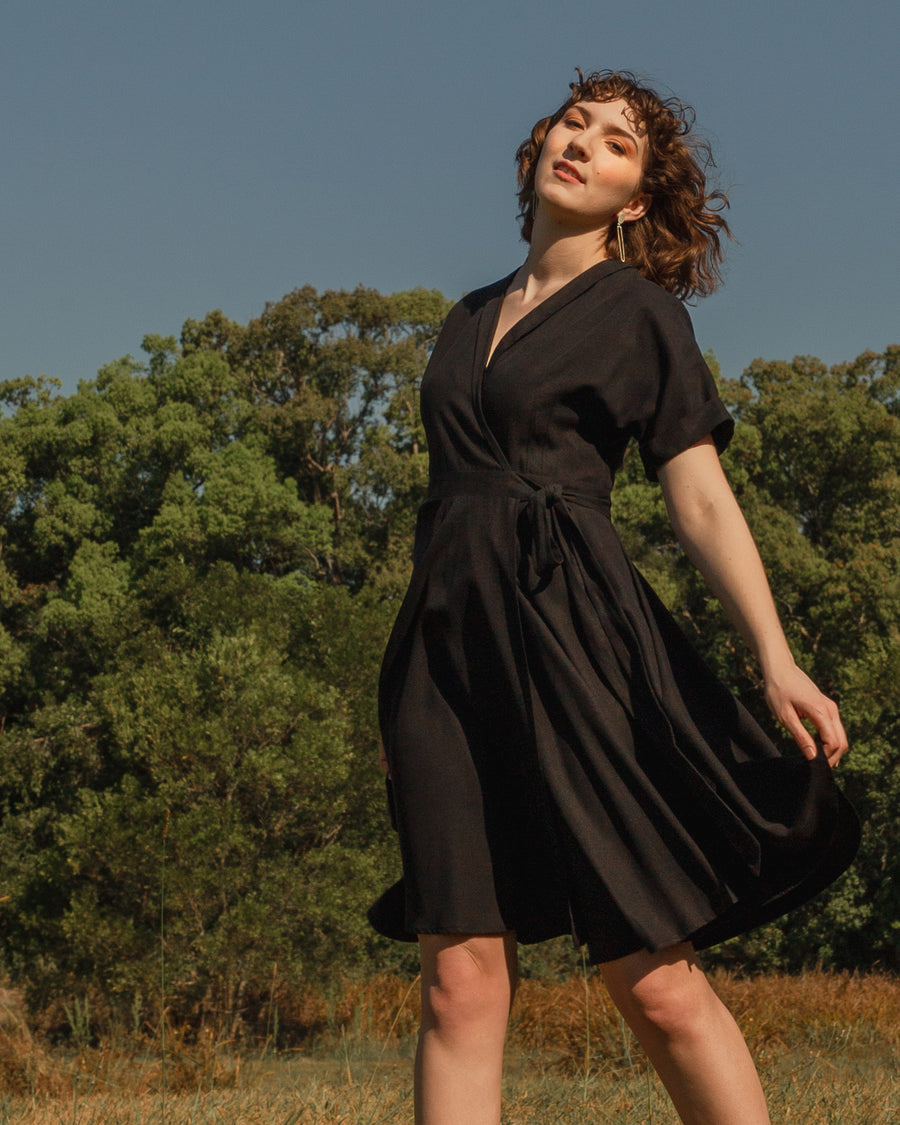 OPHELIA Noir Dress