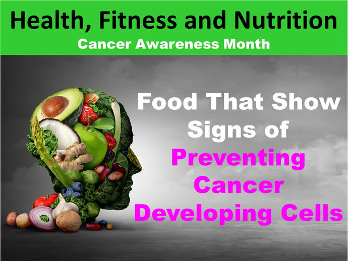 Health, Fitness and Nutrition: Cancer Awareness Month