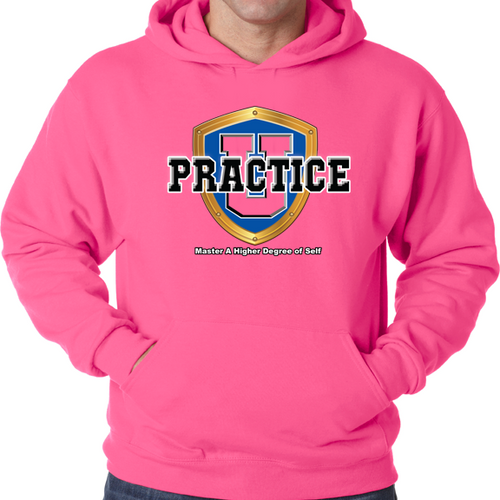 Collegiate Breast Cancer Awareness Pullover Hoodie