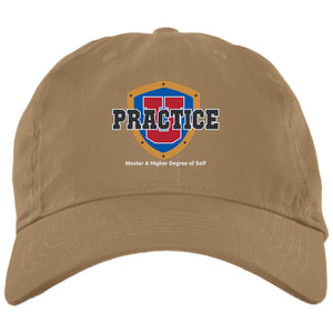"My ""Practice U"" Thinking Cap: Dad's Hat"