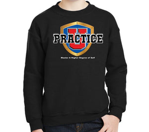 Youth Collegiate Crewneck Sweatshirt