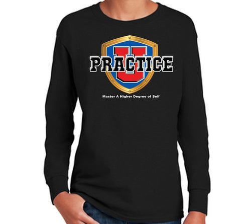 Youth Collegiate Long Sleeve Tee