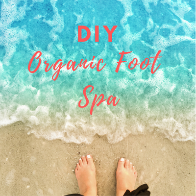DIY Organic Foot Spa