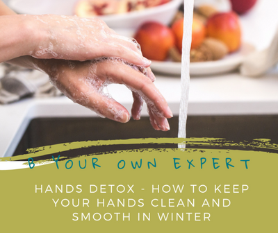 Hand Detox:  How to maintain clean and hydrated hands this winter