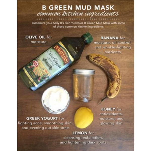 Sally B's Skin Yummies: DIY B Green Mud Mask
