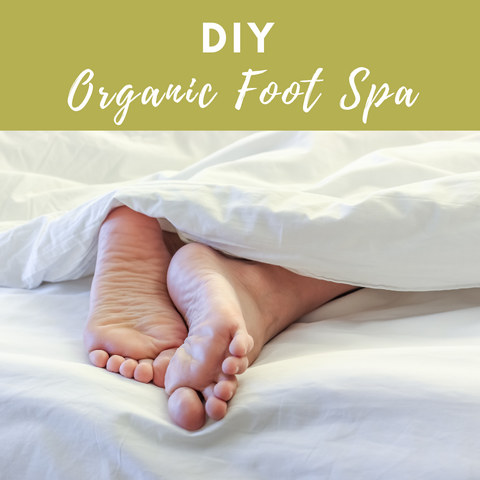 Sally B's Skin Yummies Blog: DIY Organic Foot Spa { Winter }
