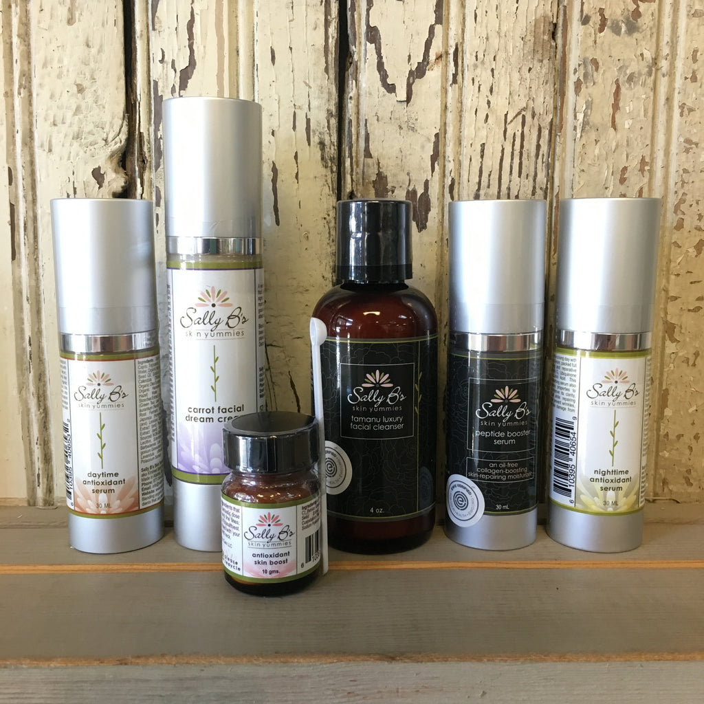 Sally's Non-Toxic Facial Care Picks