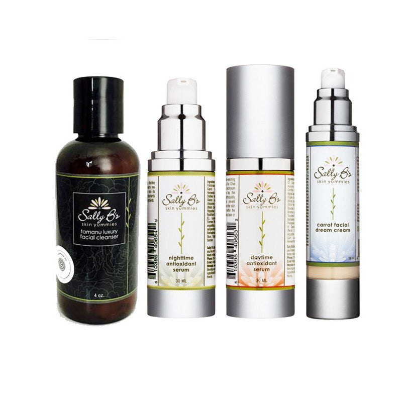 Facial Skin Care Essentials Package