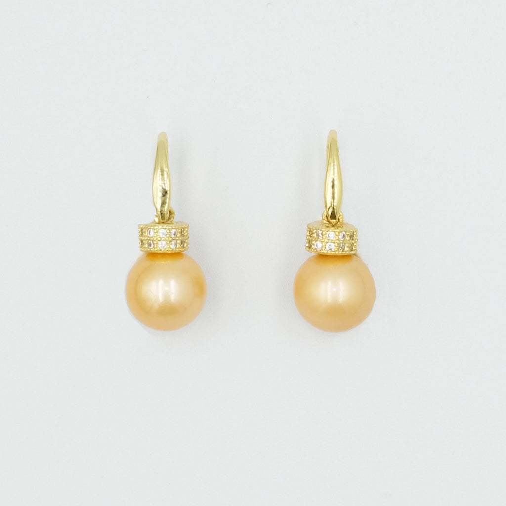 Gilda's Pearl Earrings - Aniya Jewellery