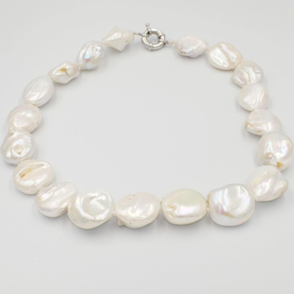 Baroque Pearl choker Necklace - Aniya Jewellery