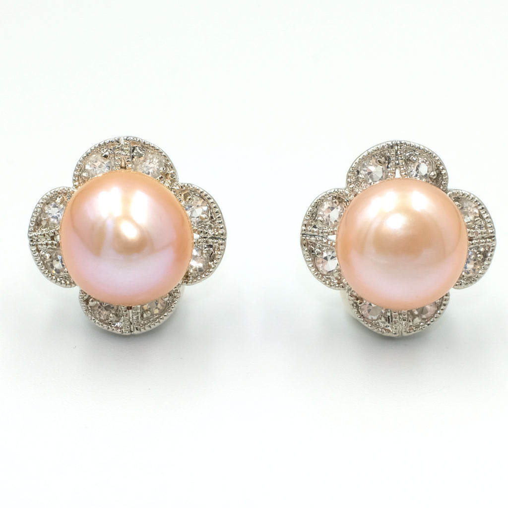Flor Paraìso Pearl Earrings - Aniya Jewellery