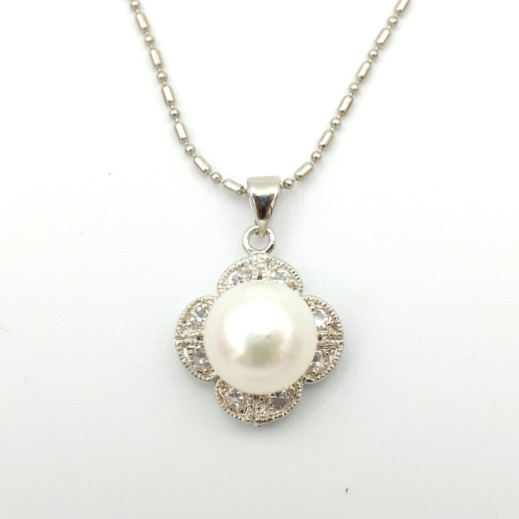 Flor Paraìso Pearl Necklace - Aniya Jewellery
