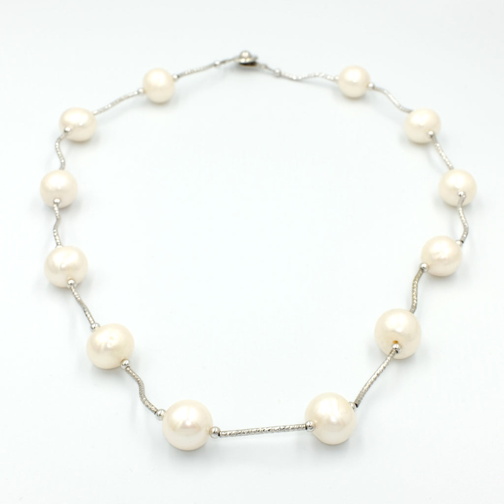 Mon Amie Blanc Pearl Necklace - Aniya Jewellery