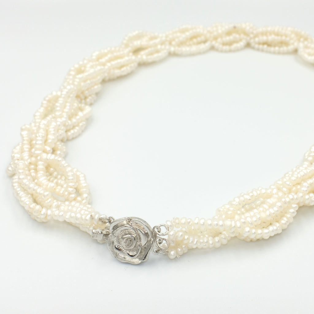 Pandora's Seed Pearl Necklace - Aniya Jewellery