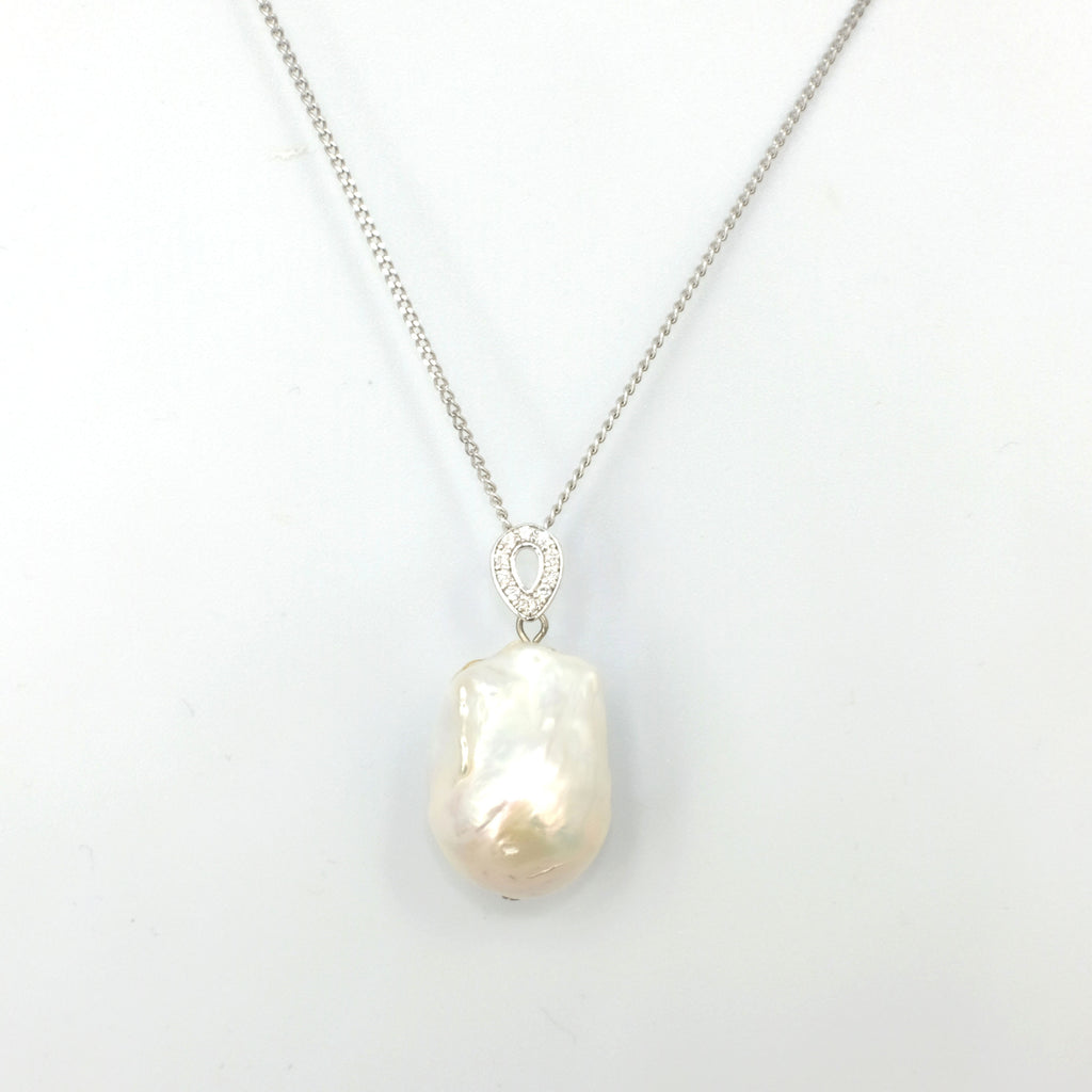 Konohana Baroque Pearl Necklace - Aniya Jewellery