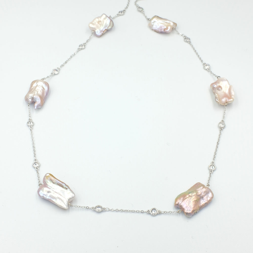 Michiko Keshi Pearl Necklace - Aniya Jewellery