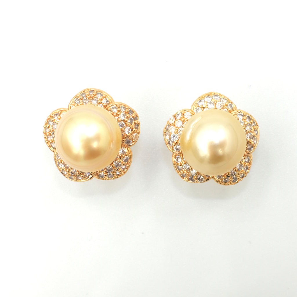 Chloris' South Sea Pearl Earrings - Aniya Jewellery
