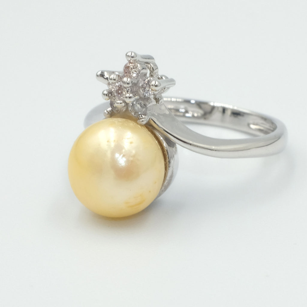 Little Star Freshwater Pearl Ring - Aniya Jewellery