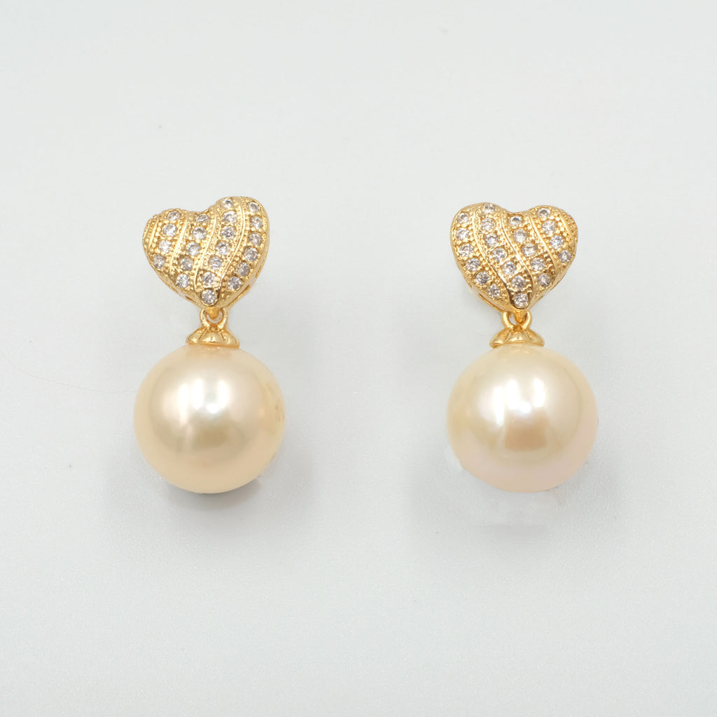 Giselle Pearl Earrings - Aniya Jewellery