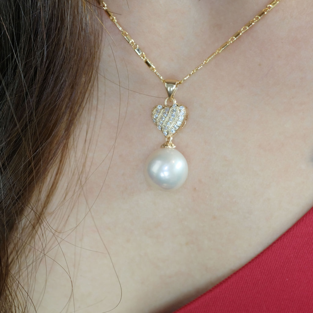Giselle Pearl Necklace - Aniya Jewellery